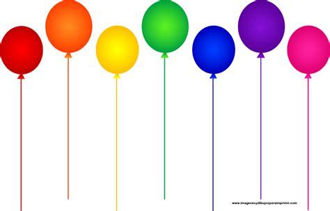imagenes originales de globos dibujos para colorear de cumplea 241 os globos ideas