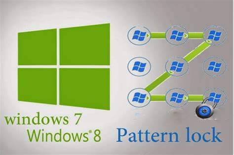 pattern lock trick how to add pattern lock on windows7 windows8 and