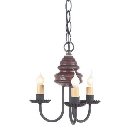 Candle Ceiling Light Wood And Metal Chandelier Primitive Colonial Ceiling Light 3 Candle Ca Saving Shepherd