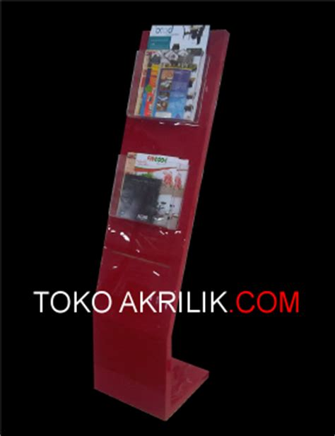 Rak Sepatu Gantung Martin category tempat brosur acrylic akrilik acrylic display