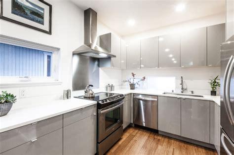 Kitchen Design For Flats by Modern Prefab Townhomes In West Seattle Design Milk