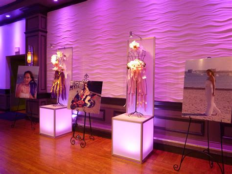 sweet 16 fashion vogue theme decor lighting