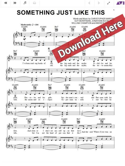 keyboard chords tutorial pdf the chainsmokers coldplay something just like this