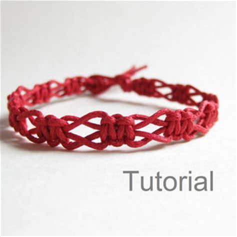 Easy Macrame Bracelet Tutorial - beginners macrame knotted bracelet pdf from knotonlyknots