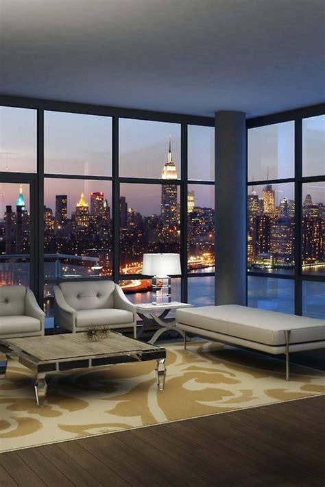 interior design apartment with city view desktop wallpaper vista de nova york fashionismo