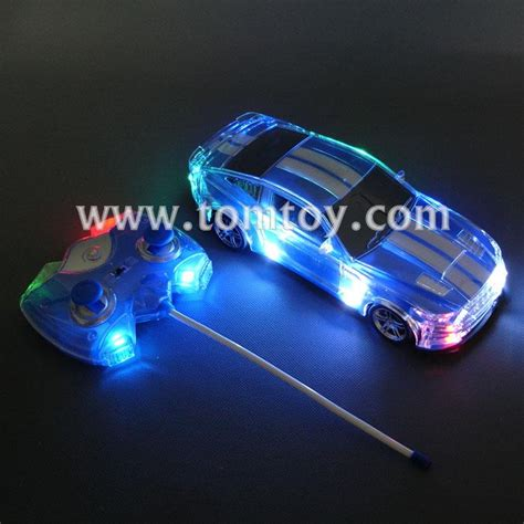 light up connecting toys rc light up toy car tomtoy