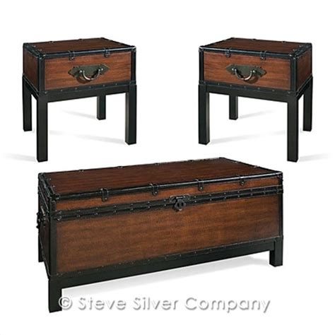 steve silver company voyage 3 table set vy200c