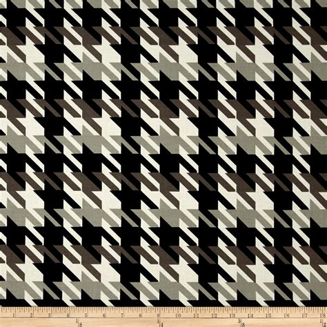 large houndstooth upholstery fabric michael miller big time houndstooth taupe discount