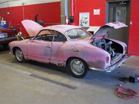 vw karmann ghia parts 1968 vw karmann ghia project car with parts