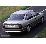 OPEL Vectra Sedan Specs  1992 1993 1994 1995