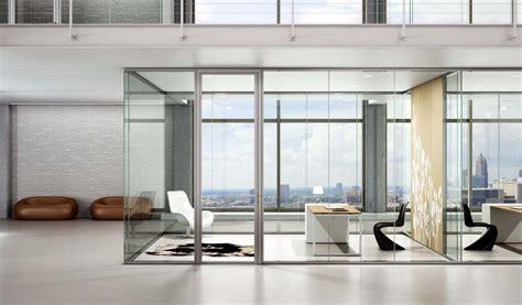 pareti di vetro per interni vetrate divisorie per interni vetri divisori sagomati e