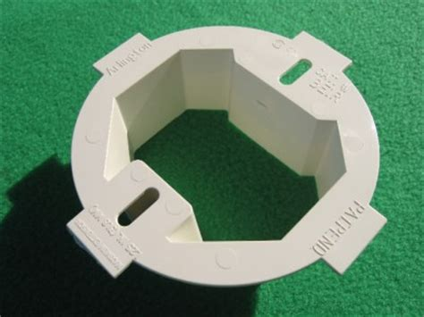 round octogonal ceiling electrical box extender 1 1 2 quot ebay