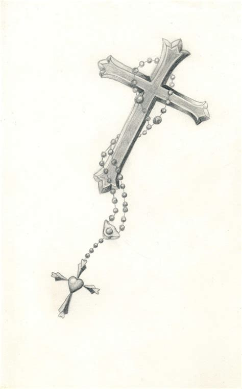 tattoo designs rosary beads cross cross with rosary reference