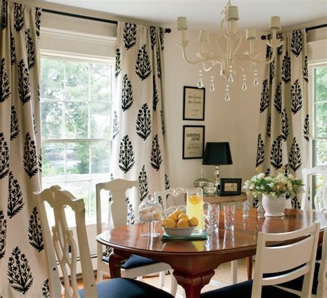 dining room drapery medallion drapes cottage dining room nicole yee
