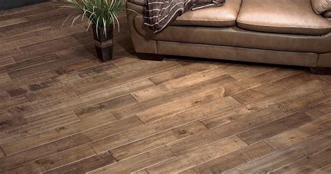 Hardwood Wood Flooring Floor Lifestyle Handscraped Maple Antique 5 Hse