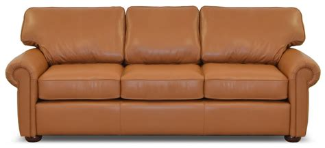 leather couch with ottoman home the leather sofa company