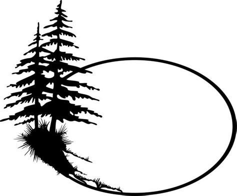 Pine Tree Template Free best 25 tree outline ideas on