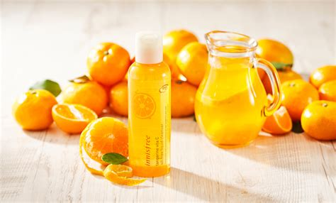 Innisfree Tangerine Vita C Serum 縲腎inh ch蘯 t d豌盻 ng da innisfree tangerine vita c serum縲