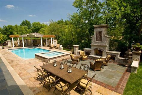 beautiful pool backyards the images collection of house modern beautiful backyards