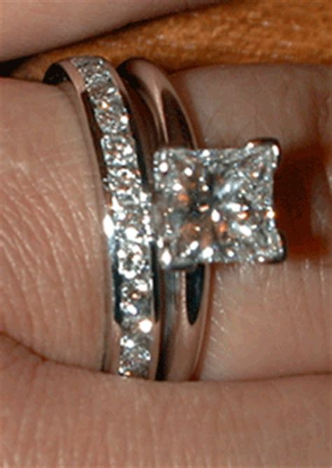 wedding bands to pair with solitaire rings solitaire or with sidestones