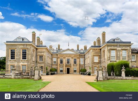 althorp house the front of althorp house seat of earl spencer and