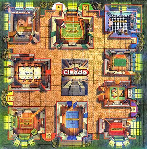 clue room names cluedo board cluedo board ian dewar flickr