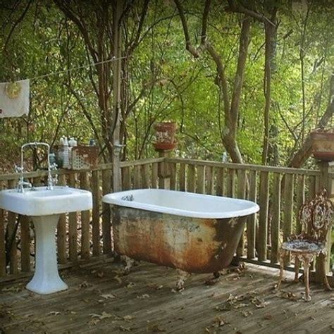outdoor bathtub ideas 30 outdoor bathroom designs home design garden