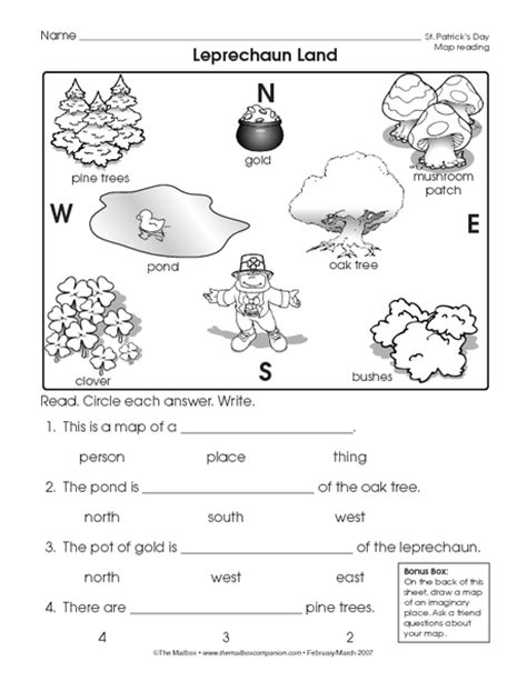 printable maps for elementary students reading a map worksheet easy and free to click and print