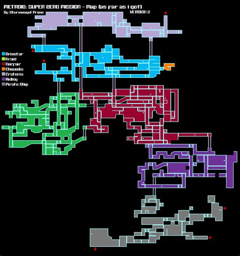 metroid map картинки metroid zero mission map picpool ru