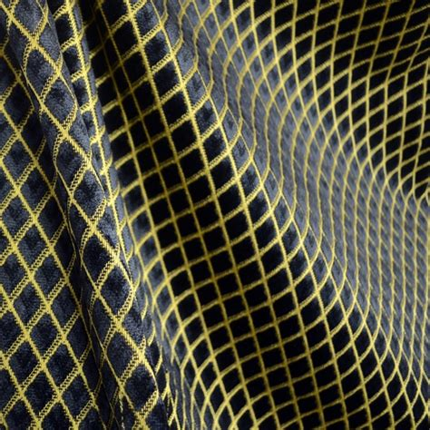 black and gold curtain fabric shop houzz the fabric co black gold diamond chenille cut