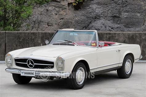 mercedes convertible sold mercedes 230sl convertible auctions lot 20