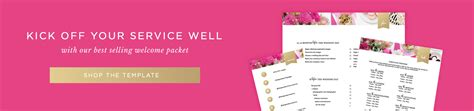 Megan Martin Creative Business Lifestyle Bloggerbrand Building Designing A Well Rounded New Client Welcome Packet Template