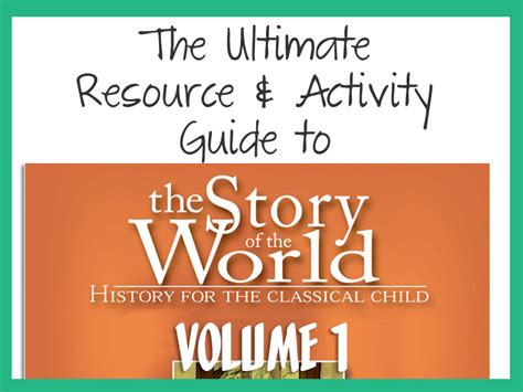 The Ultimate Guide To Resources by The Ultimate Guide To Resources And Activities For Story
