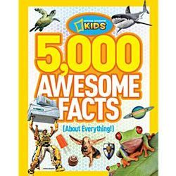 5000 Fantastic Facts by 5 000 Awesome Facts About Everything Book Findgift
