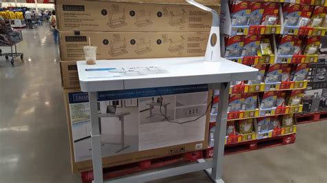 tresanti adjustable height desk costco costco tresanti adjustable height desk 299 youtube