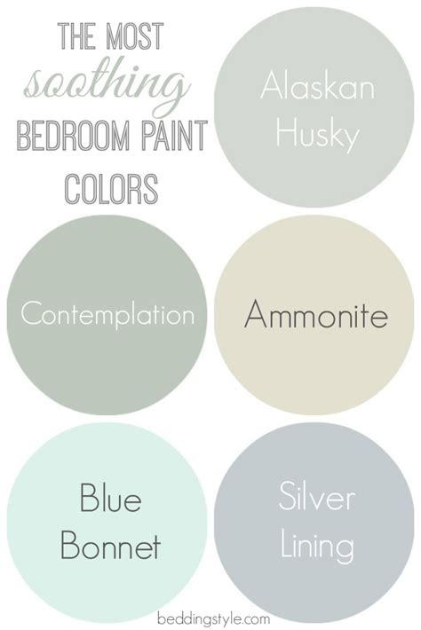 soothing colors for a bedroom how to decide on bedroom paint colors from beddingstyle