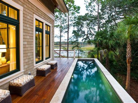 pool deck  patio designs hgtv