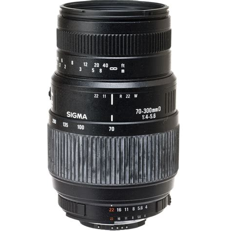 Bekas Sigma 70 300mm used sigma zoom telephoto 70 300mm f 4 5 6 auto focus