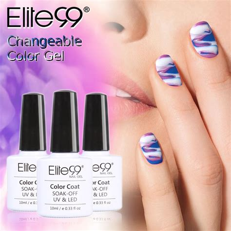 Gel Nail Varnish by Elite99 Color Changing Uv Nail Gel Lasting Uv