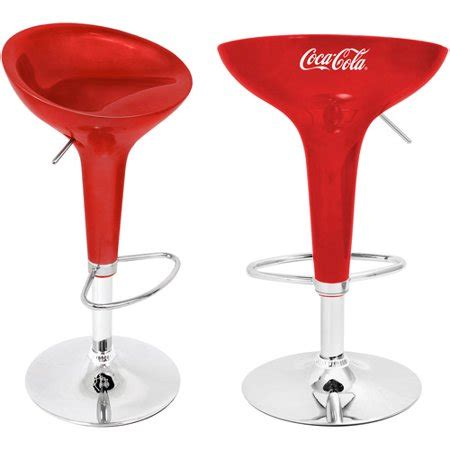 Lumisource Scooper Bar Stool by Lumisource Coca Cola Scooper Bar Stool In And White