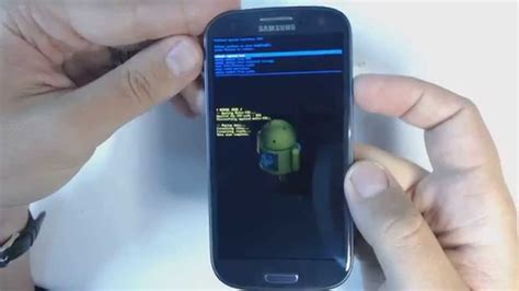 reset hard samsung s3 samsung galaxy s3 i9300 hard reset youtube