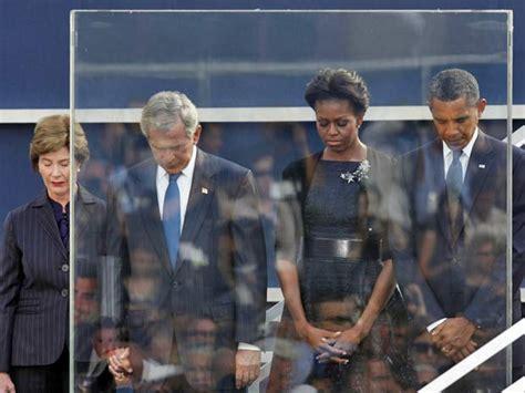 Ato Ir 225 Homenagear Sindicalistas o presidente barack obama e o ex presidente george w bush
