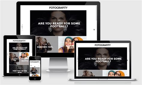 fotografity responsive photography blogger template