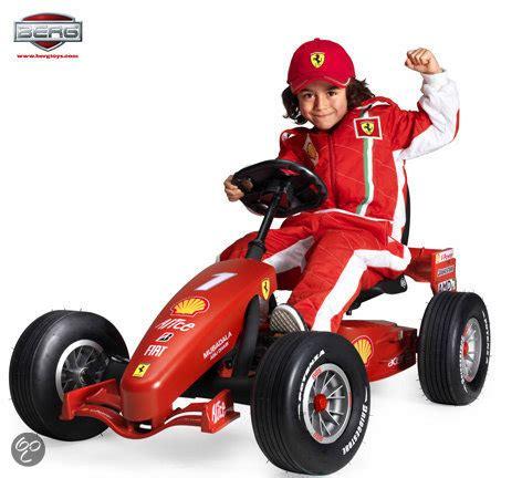 Go Kart Ferrari by Bol Berg Gocar Junior Buddy Ferrari F1 Pedal Gokart