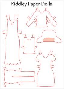 Doll Template by Paper Doll Sle 7 Documents In Pdf Word Eps