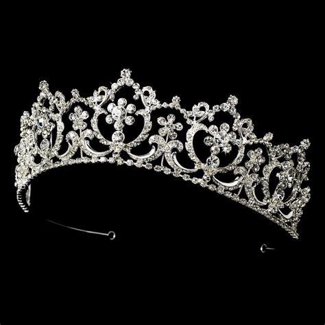 Princess Wedding Crown closeout price silver rhinestone princess tiara bridal headpiece ebay