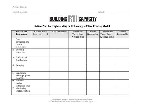 capacity building plan template search results building rti