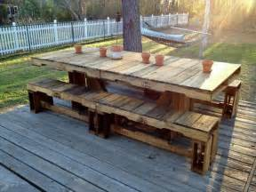 Pallet Patio Table by 5 Easy Wood Projects From Pallets