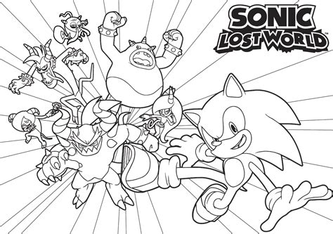 coloring book lost sonic boom coloring pages to print coloring home