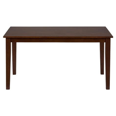 simplicity rectangle dining table 452 60 decor south